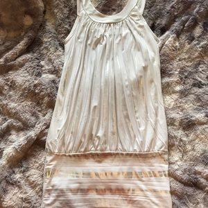 Dresses & Skirts - White and silver party dress